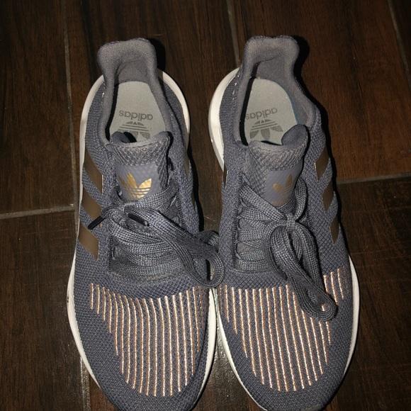 adidas rose gold and grey